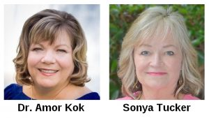 "Dr. Amor Kok and Sonya Tucker lead a new group called ""Making Connections"""